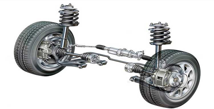 front-suspension-steering-unit-rack-pinion